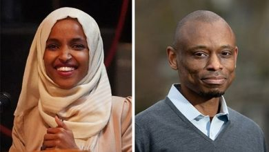 Photo of U.S. Rep. Ilhan Omar, challengers spar over political style, campaign cash