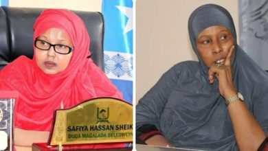 Photo of Beledweyne first female mayor, Safiya Hassan Sheikh Ali dismissed from her post