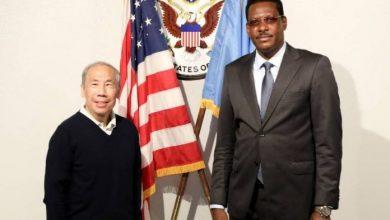 Photo of Galmudug President Meets With US Ambassador In Mogadishu