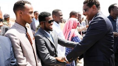 Photo of Galmudug Leader Arrive In Central Town