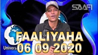 Photo of FAALIYAHA QARANKA 06 09 2020 Arimaha bulshada iyo Kaftanka siyaasada oo xiiso gaar ah leh