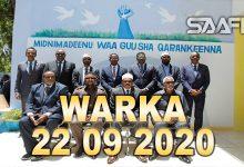 Photo of WARKA 22 09 2020 Madaxweyne Farmaajo Oo Kulan La Qaatay Madaxda Maamul Goboleedyada & Guddoonka 2-Da Aqal