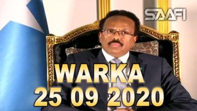 Photo of WARKA 25 09 2020 Madaxweyne Farmaajo oo khudbad xasaasi ah ka jeediyey kulanka Qaramada Midoobay