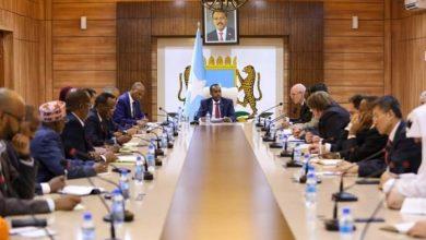 Photo of Somali PM Hosts International Community Representatives