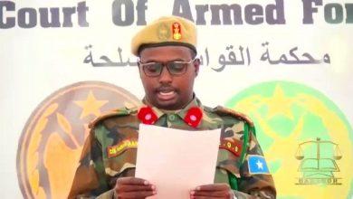 Photo of Mogadishu jail break suspect sentence to death, prison guards handed jail terms