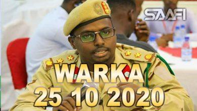 Photo of WARKA 25 10 2020 Maxkamada ciidamada qalabka sida oo xukuno ku riday ragii weeraray xabsiga dhexe